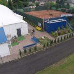 Domek klubowy - korty tenisowe i hala Sulejówek